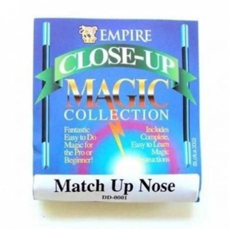 Allumette qui disparait dans le nez (Match Up Nose)